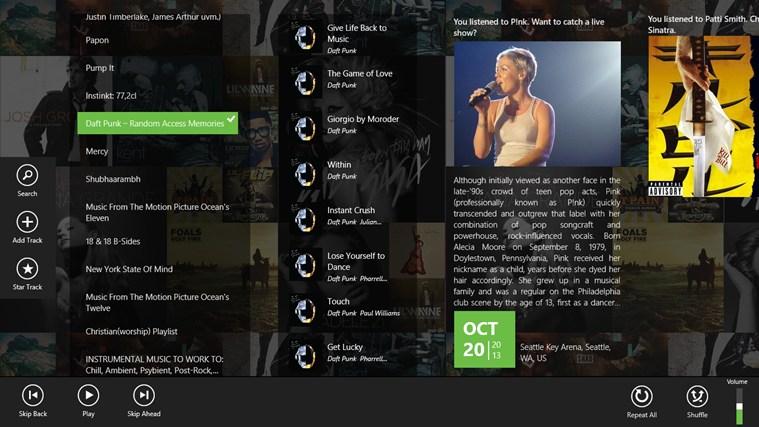 App Spotlite Listen To Spotify Spotify Windows 8
