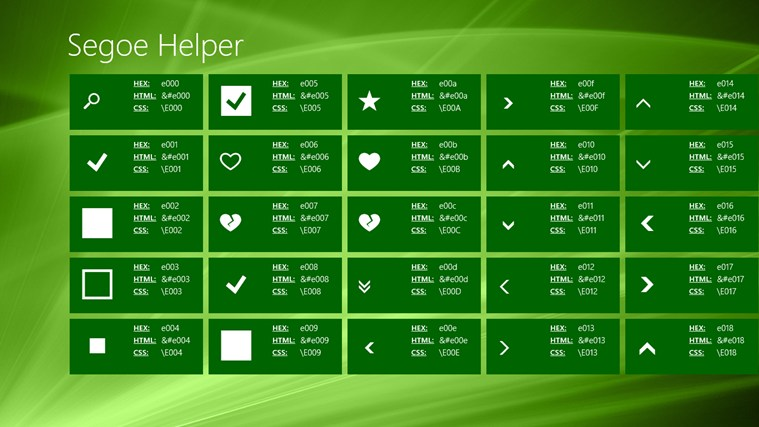 Segoe Helper screen shot 0