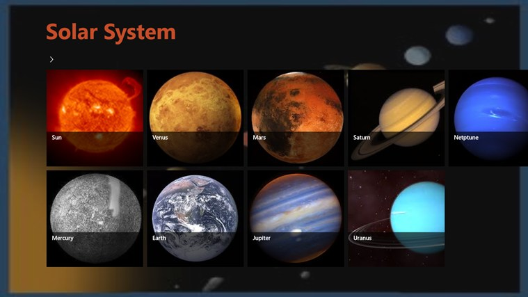 different planets in solar systems - photo #45