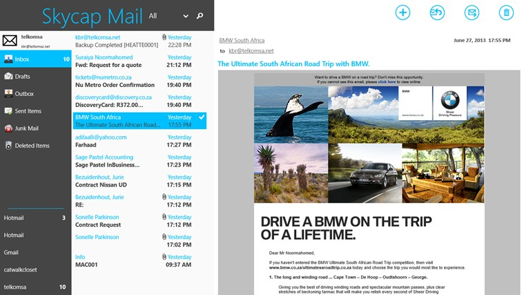 How to: fix outgoing email for imap accounts in windows 8 / rt.