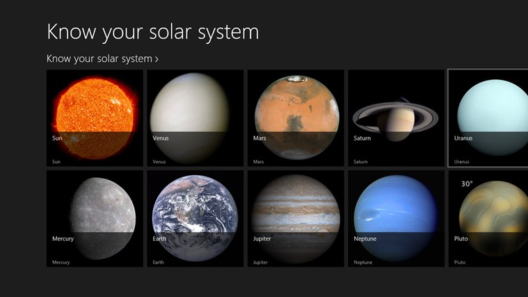 all information solar system planets - photo #35