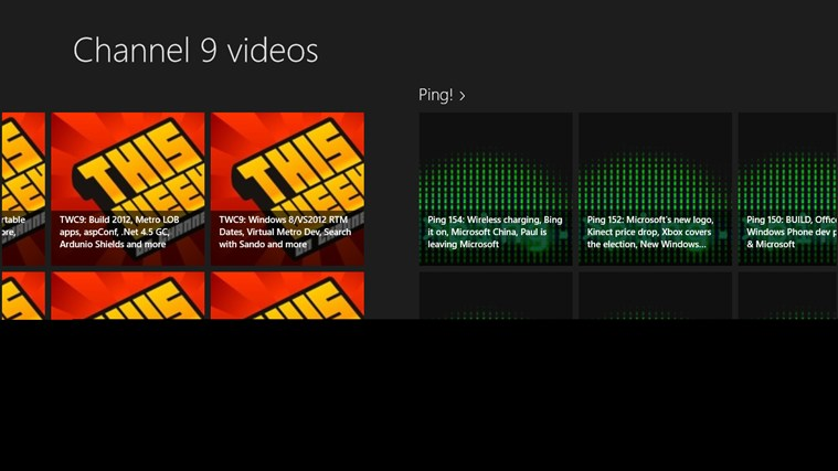 Channel 9 videos free download for Windows 8 | FreeNew