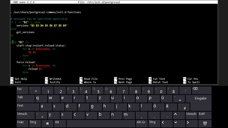 SSH terminal client for Surface RT Windows 8 | Microsoft