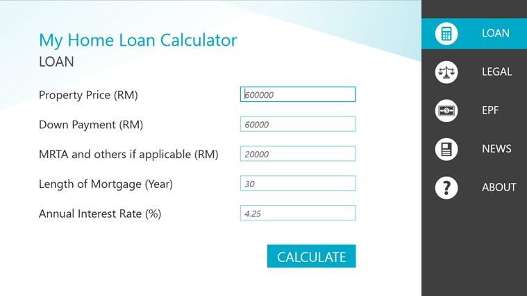 Used Car Down Payment Calculator >> Home Loan Calculator Malaysia Sime Darby Loan Car For Sale 300