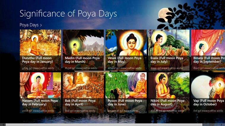 Significance of Poson full moon Poya day.