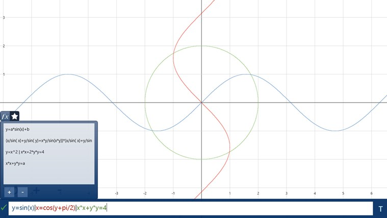 Equation Sketchpad App For Windows In The Windows Store