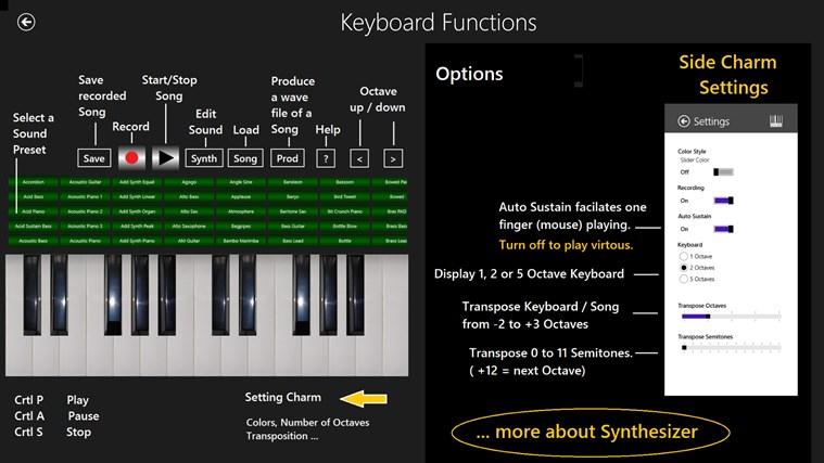 music keyboard software free