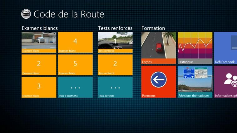 application code de la route 2013 pour windows dans windows store. Black Bedroom Furniture Sets. Home Design Ideas
