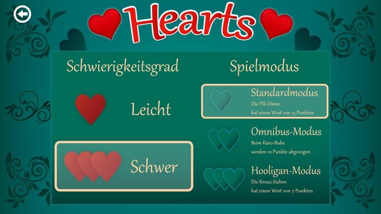 Spielregeln Hearts