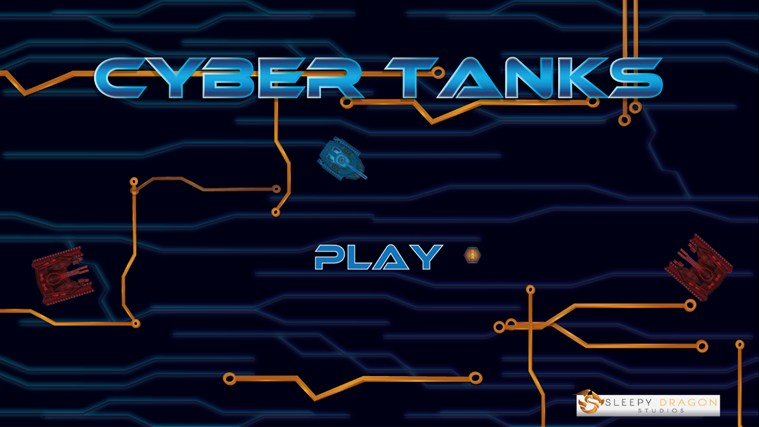 cyber tank_Cyber Tanks screen shot 2