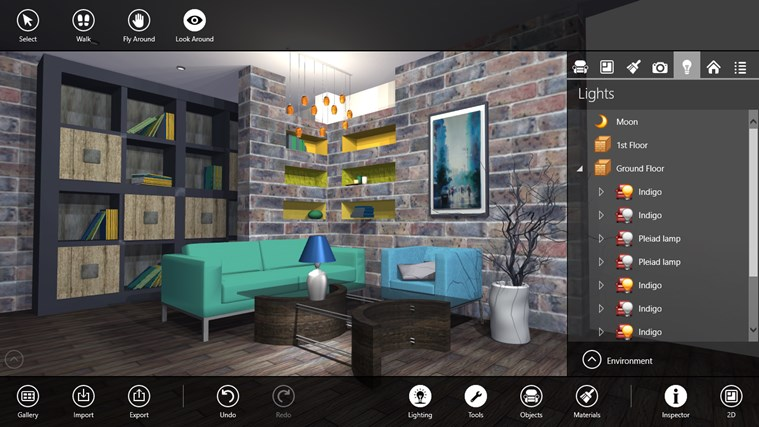 Live interior 3d pro app for windows in the windows store for Interni 3d