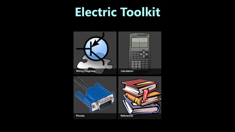 electric toolkit app for windows in the windows store. Black Bedroom Furniture Sets. Home Design Ideas