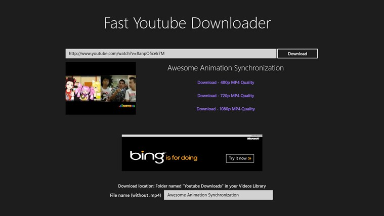 Fast Youtube Downloader - FreeApps Download, Free Windows ...