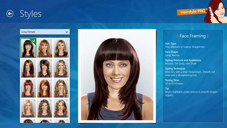 Hairstyle PRO App For Windows In The Windows Store