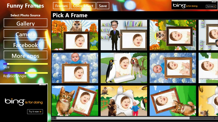 Funny Frames App For Windows In The Windows Store