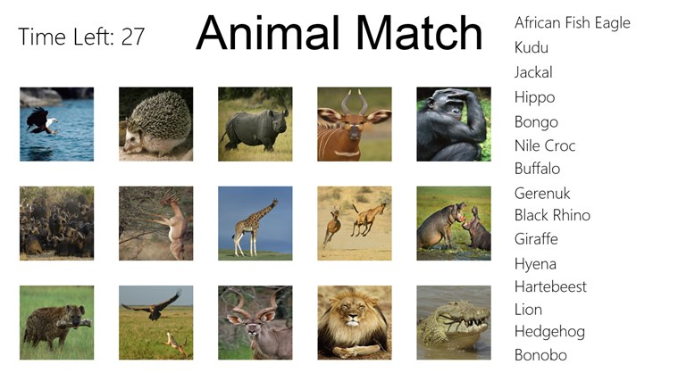 African Animals Names - photo#30