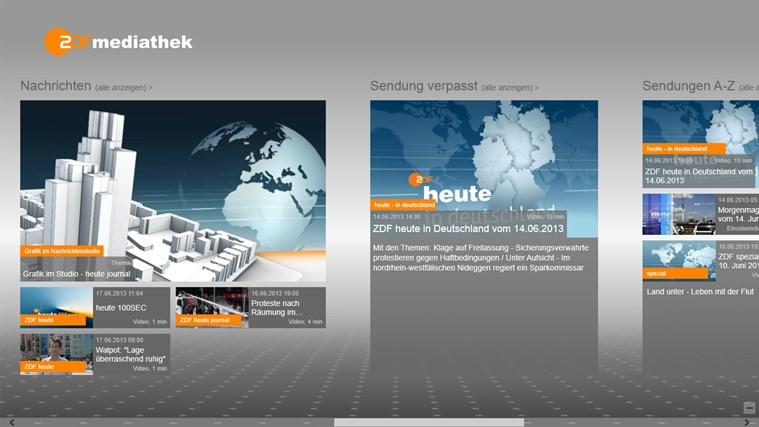Mediathek App Windows