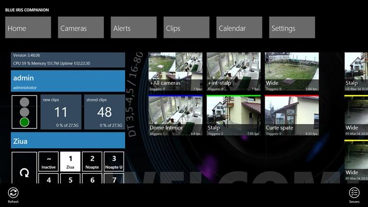 Blue Iris Companion App For Windows In The Windows Store