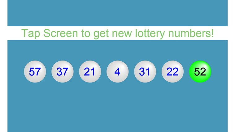 Lucky Keno Numbers For Today