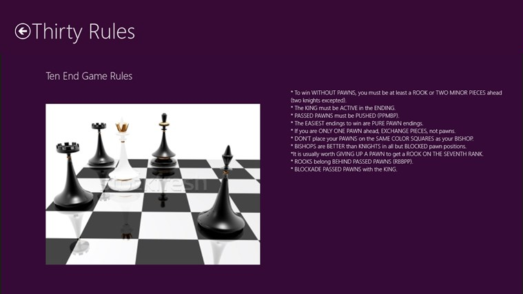 Davis Pannell's blog: Review of rules for chess::When ...