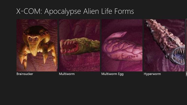 X-COM: Apocalypse Alien Life Forms