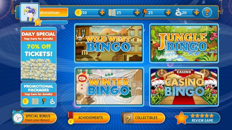 Multiplayer Bingo App