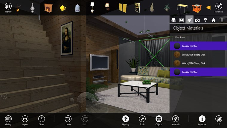 Live interior 3d free app for windows in the windows store - Interior design software free ...