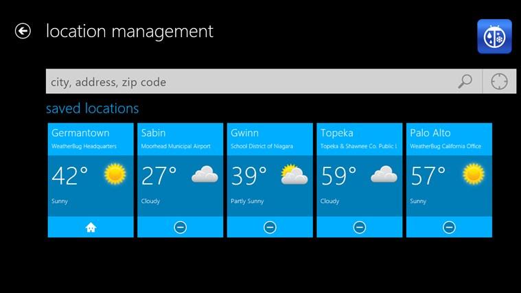 WeatherBug free download for Windows 8 | FreeNew