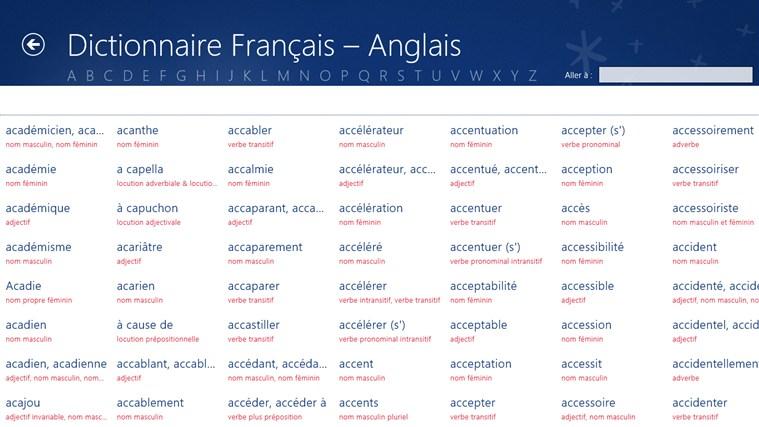 traduction anglais francaise